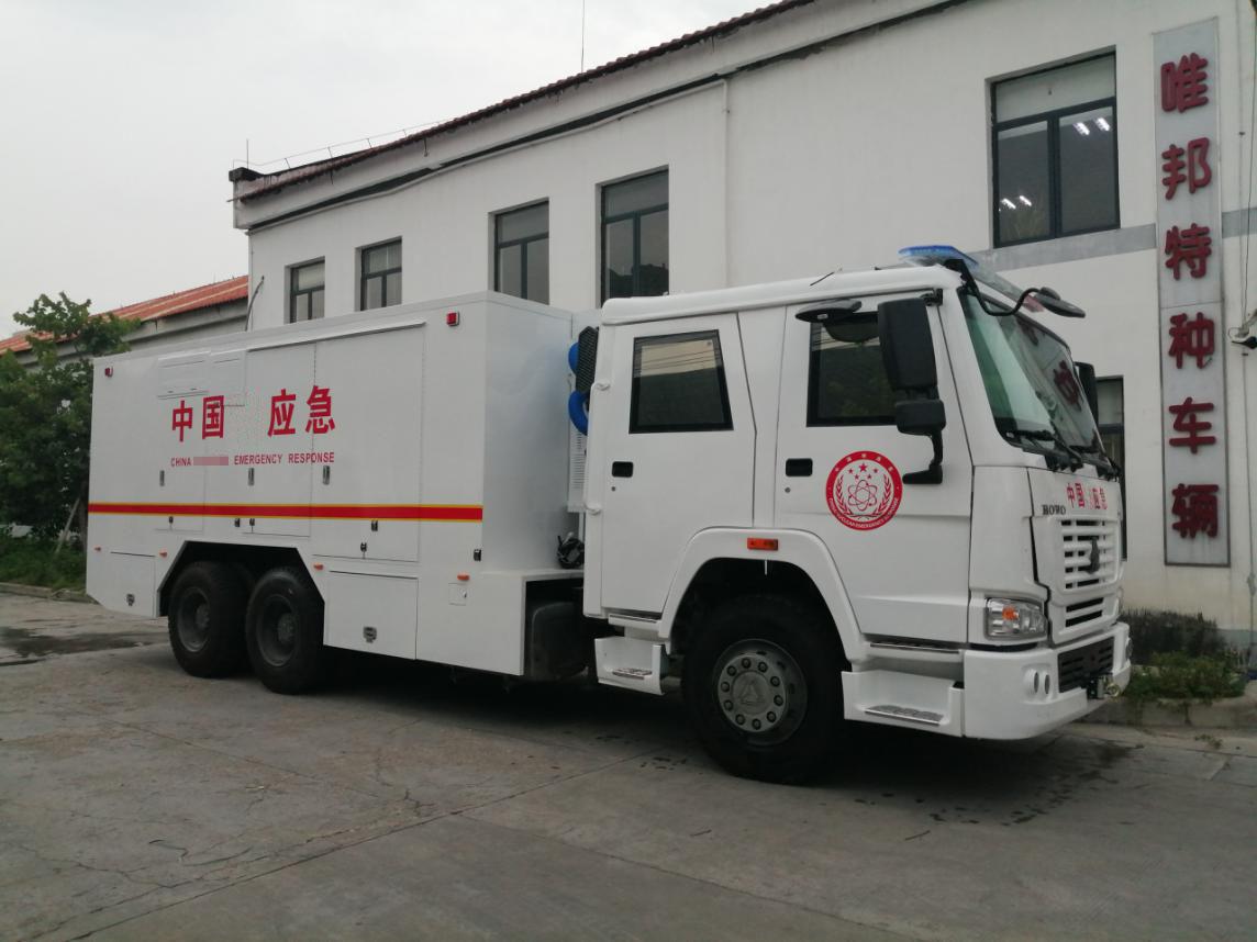 铅防护应急车下线