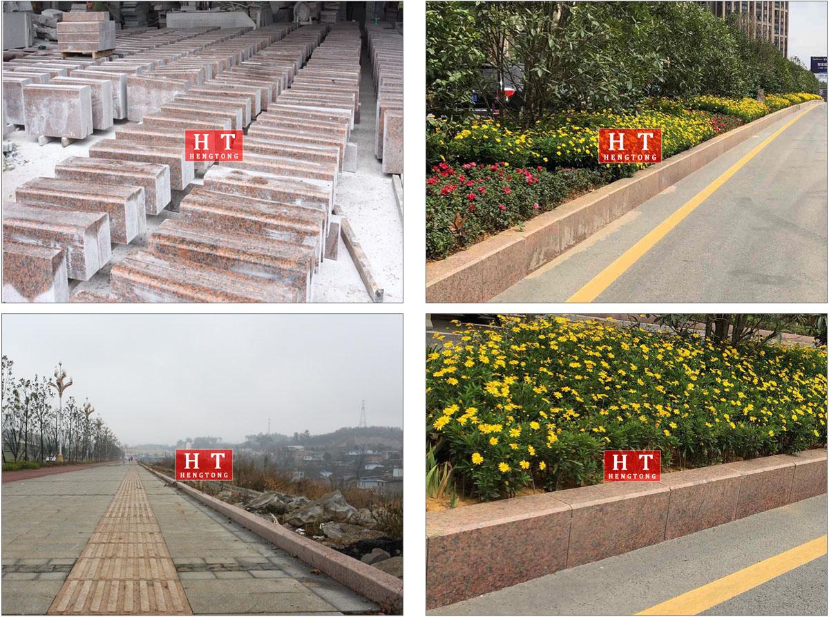 贵阳市政枫叶红路沿石项目