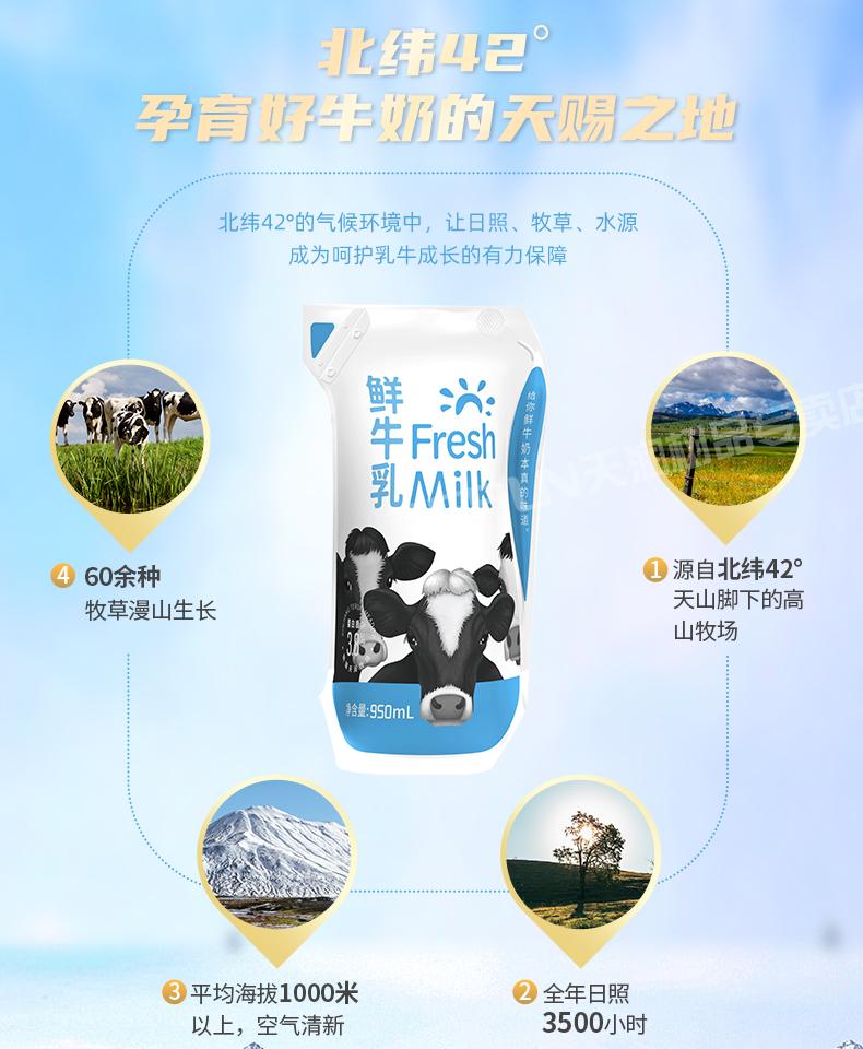 Fresh Milk 鲜牛乳