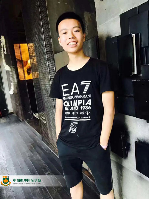 枫华优秀毕业生:被帝国理工录取的学霸少年