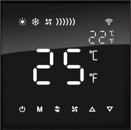 风雅系列Zigbee地暖/新风/空调控制器