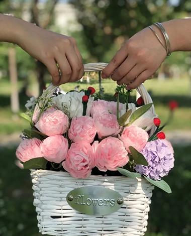 你负责告白   我负责送花