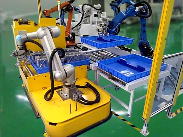 具備3D視覺感知功能的移動機器人