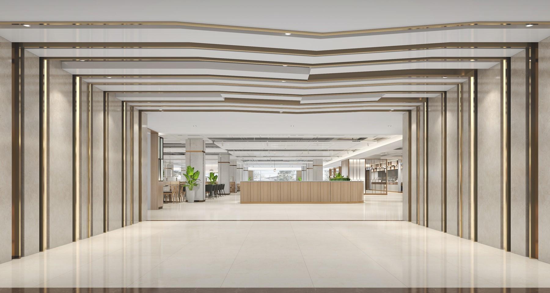 北京华大员工餐厅设计