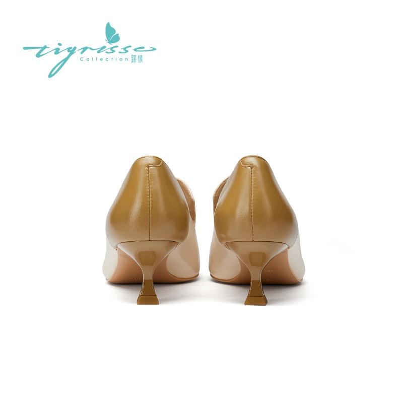 法式气质奶奶鞋法式小猫跟小皮女鞋