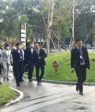 南关区人大主任鲁月及长春市人大代表视察长春国际金融中心项目