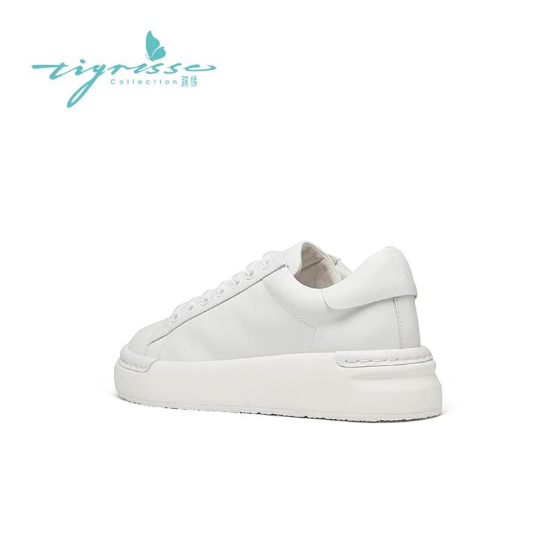 百搭复古厚底舒适小白鞋运动板鞋
