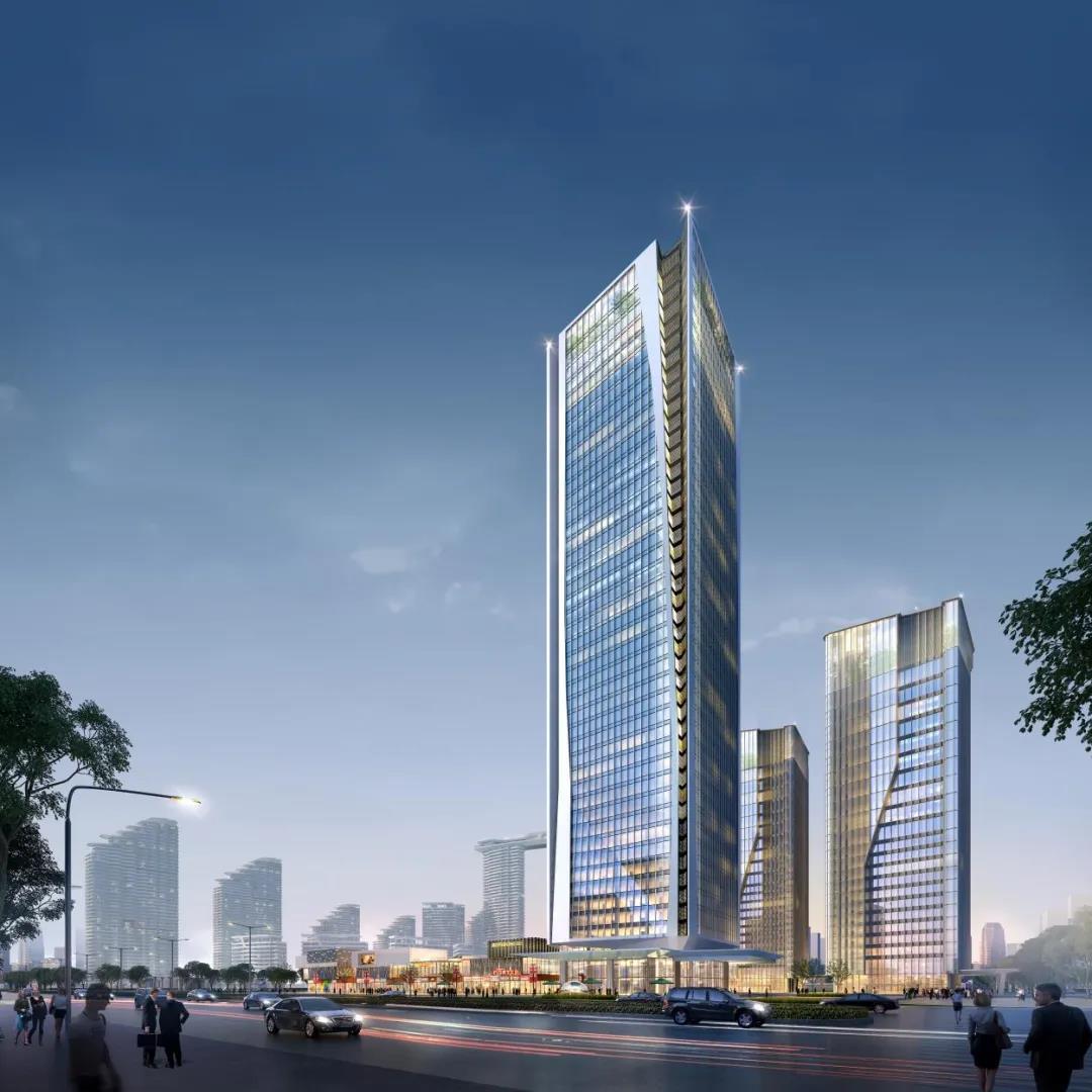 北海日报报道红树林现代金融产业城项目进度