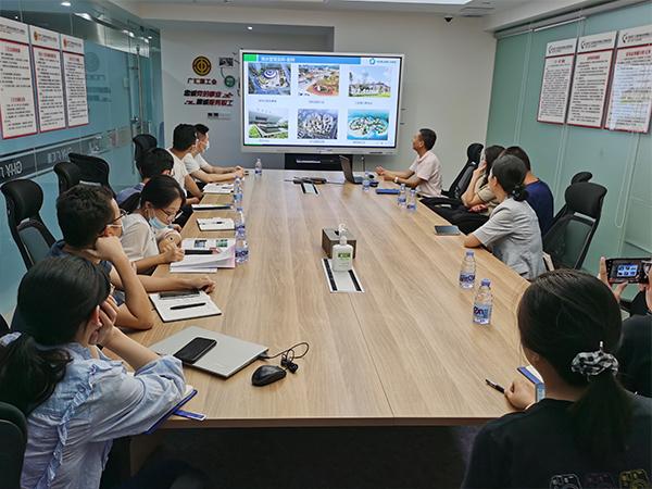 沃而润与深圳市广汇源环境水务有限公司开展交流研讨会