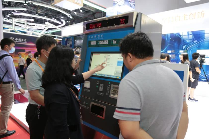 直击工博会三 | 国产CPU在轨道交通自动售检票系统中的应用