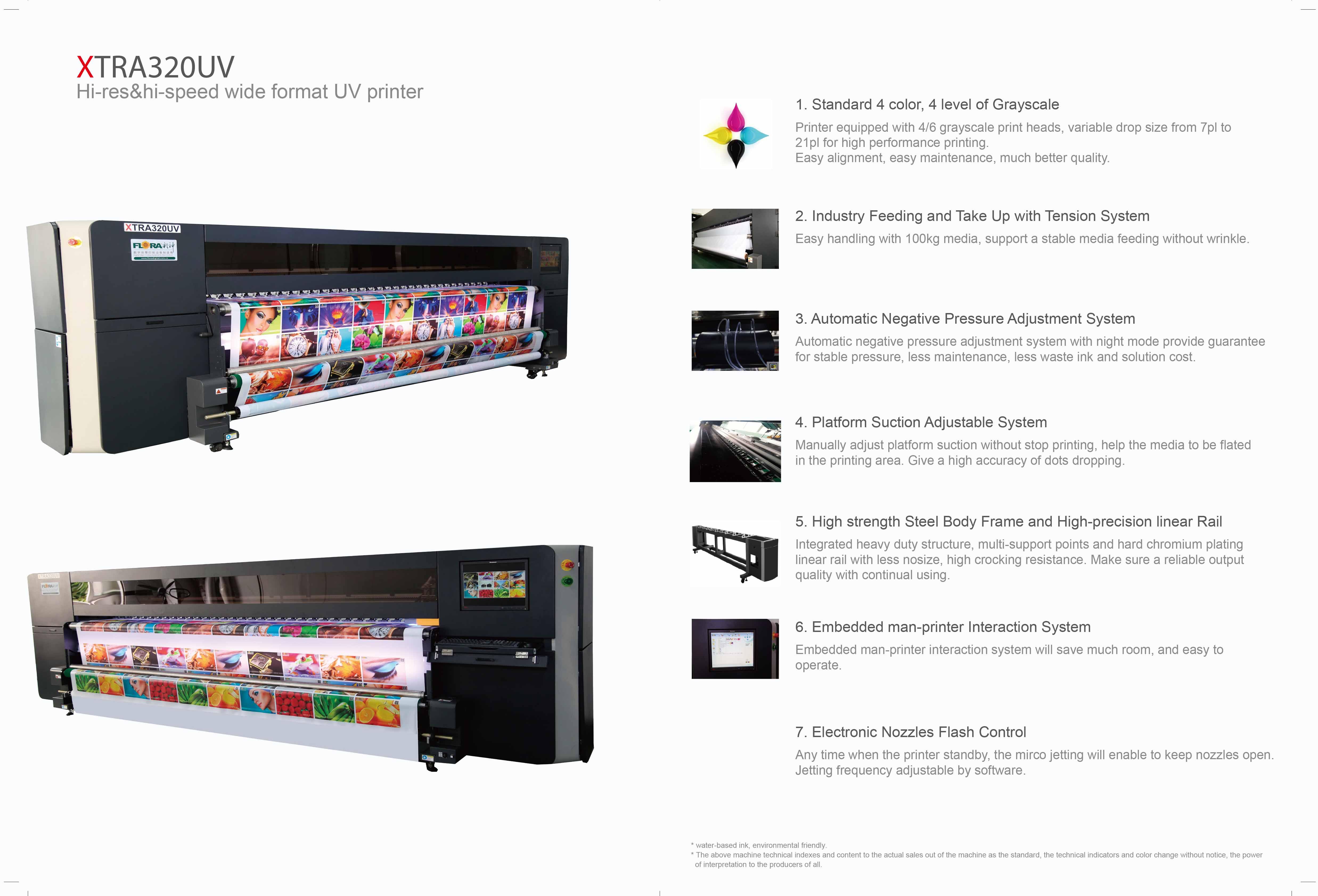 3.2m Inkjet UV printer XTRA320UV