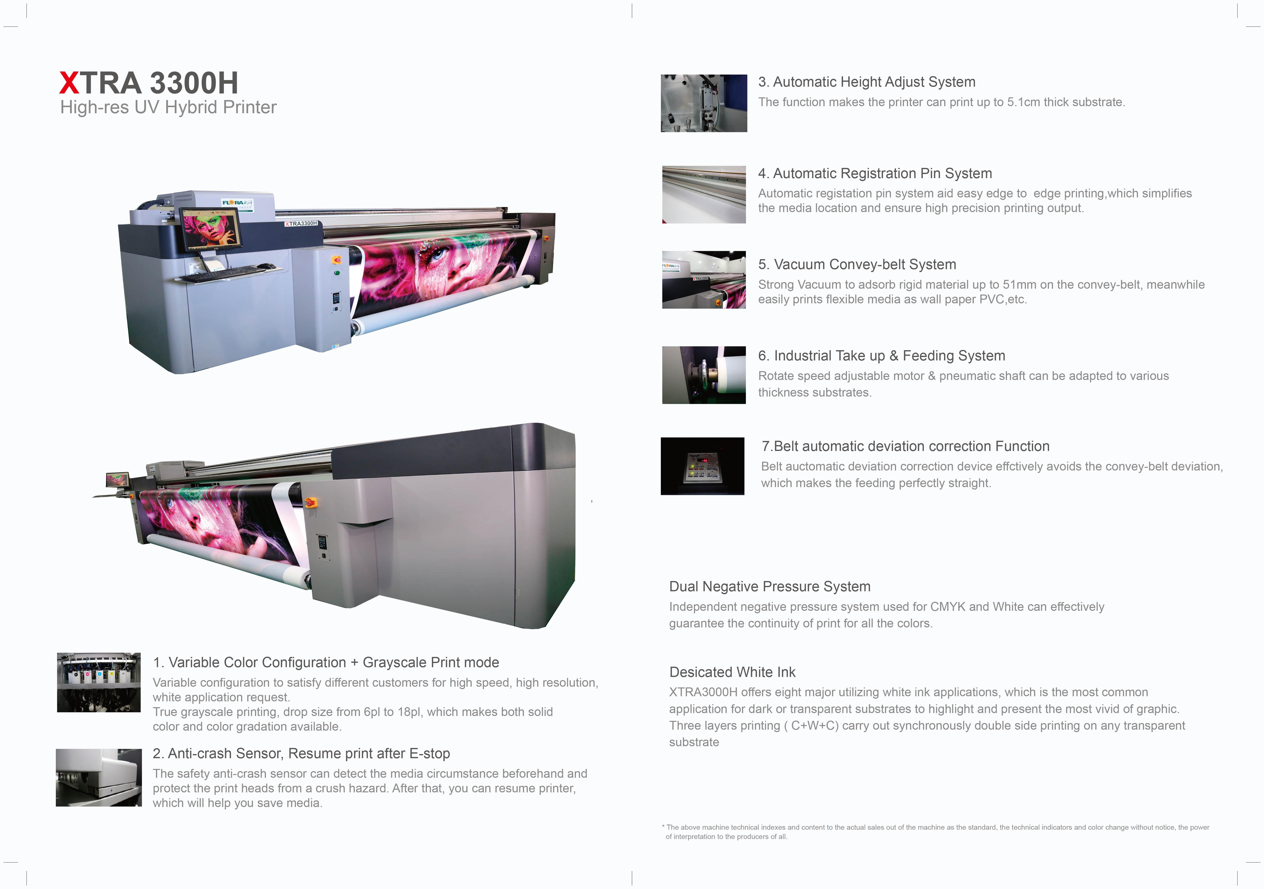 3.2m Hybrid Printer XTRA3300H