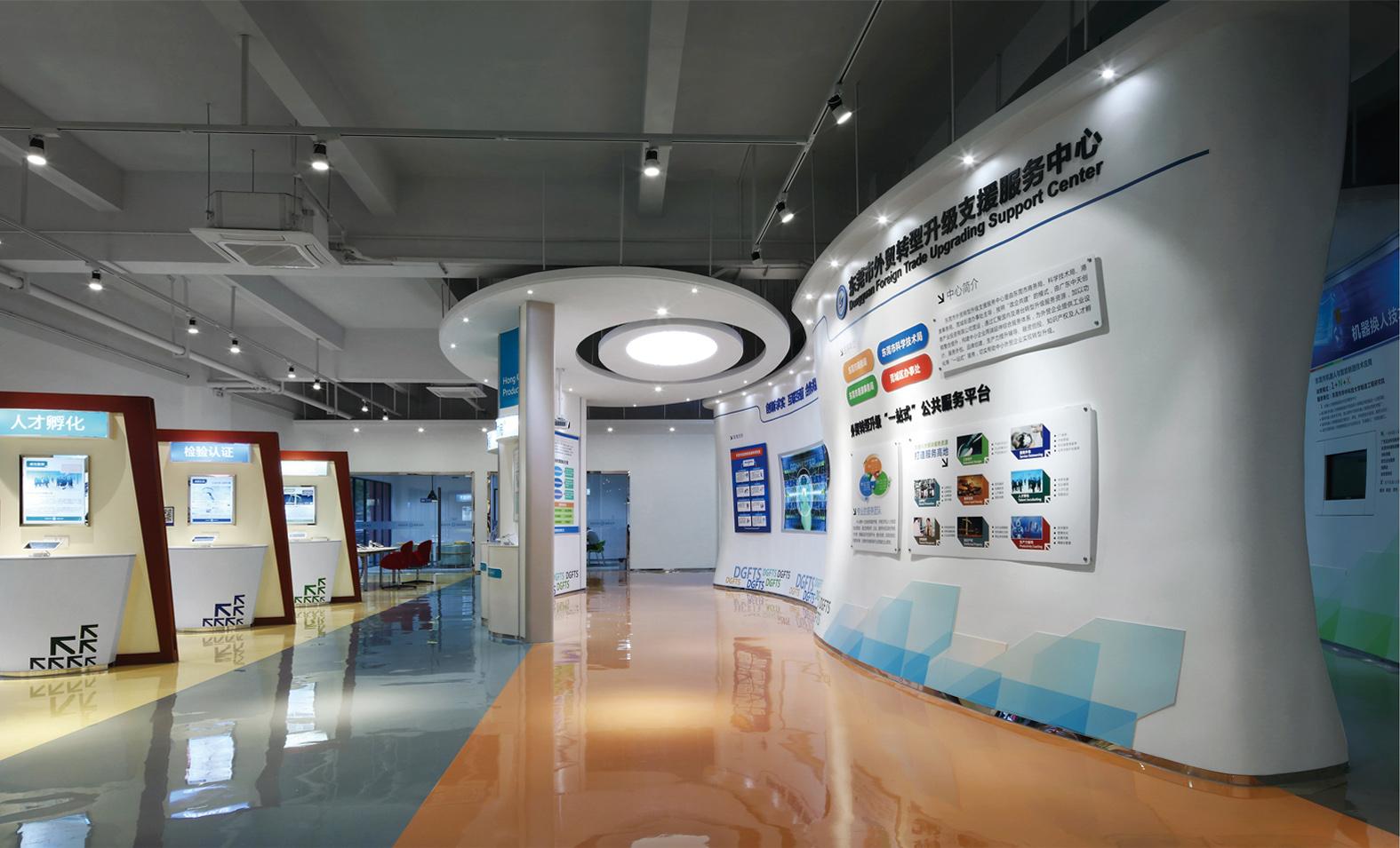 外贸科技展厅