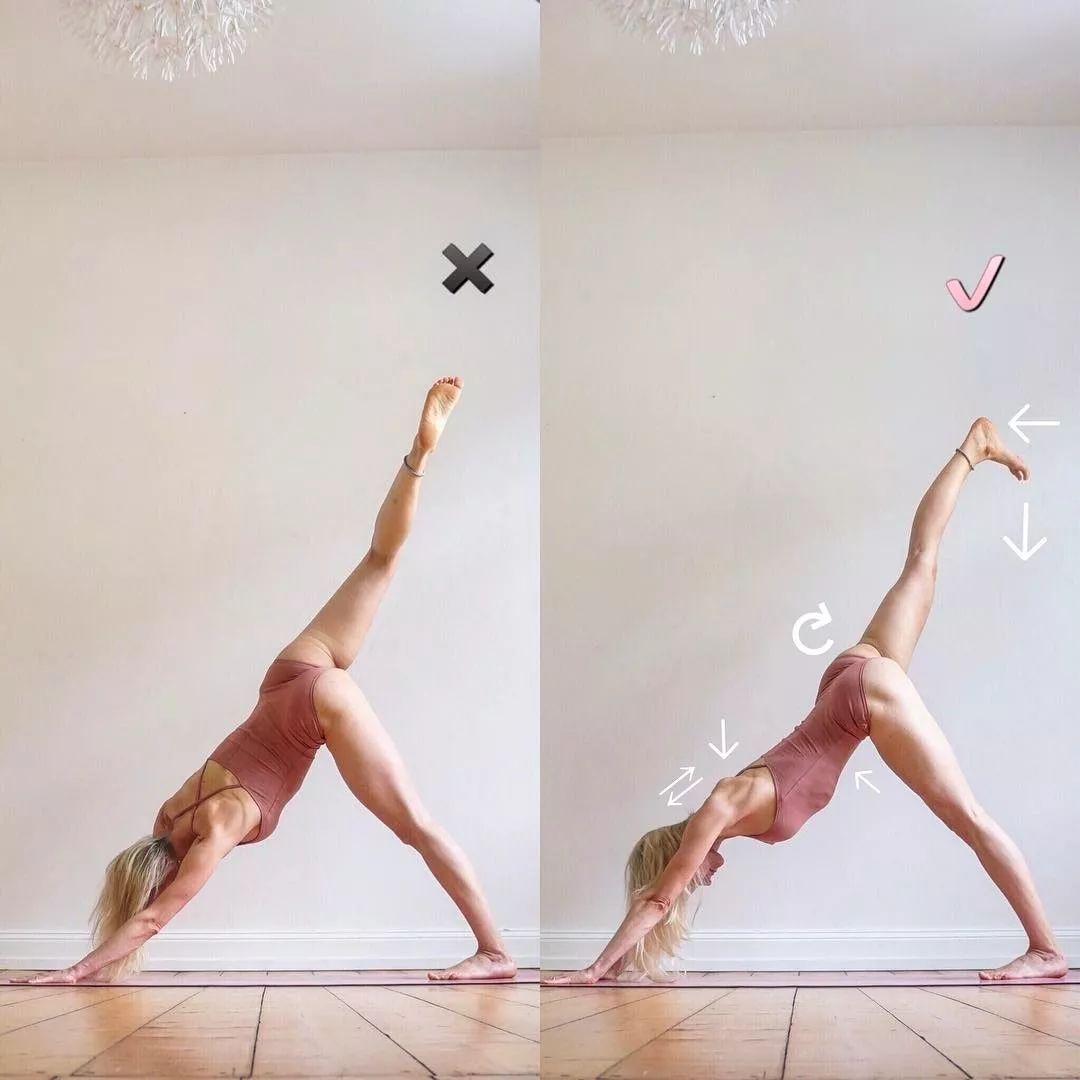 萨托瑜伽4个常出在拱背的动作