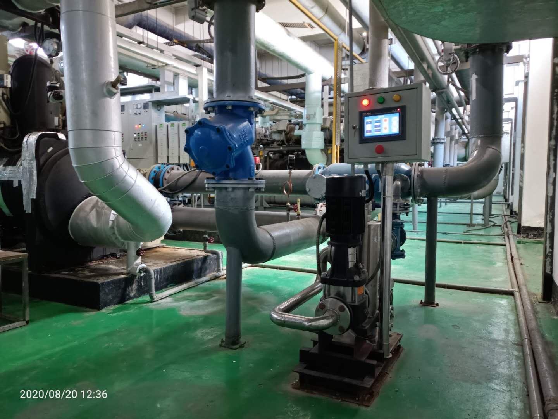 冷却循环水系统效果,自动在线清洗能保障吗