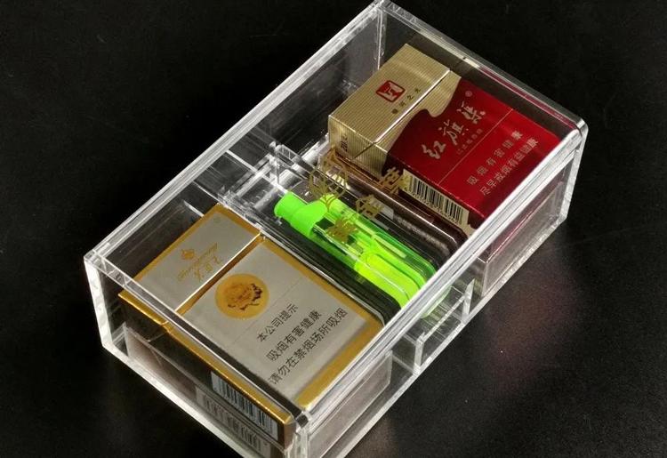 亚克力香烟展示盒