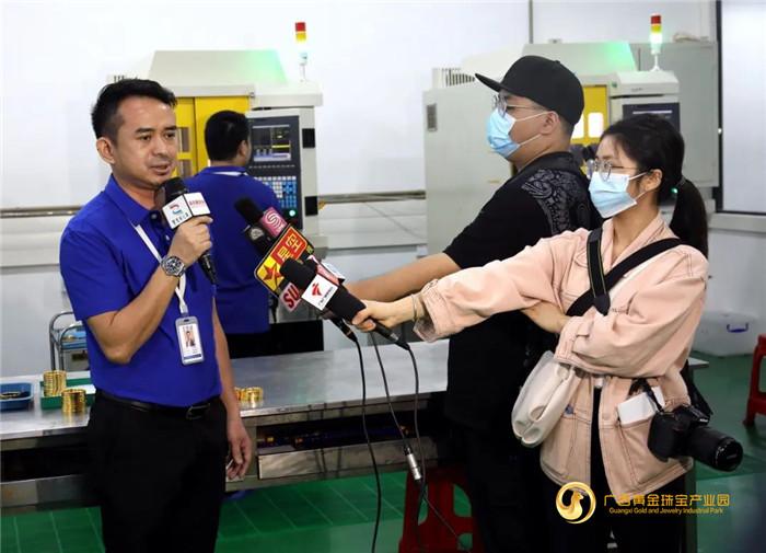 粤港澳大湾区主流媒体记者采访团走进平桂