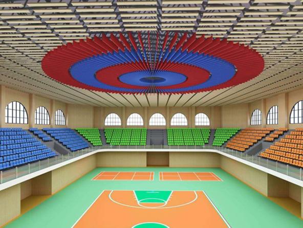 内蒙古呼和浩特职业学院体育馆