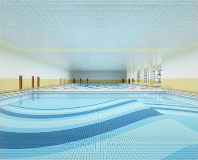 安徽亳州体育中心游泳馆