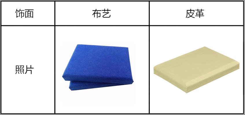 布艺软包吸音板
