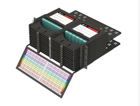 4U高密度光纤配线箱