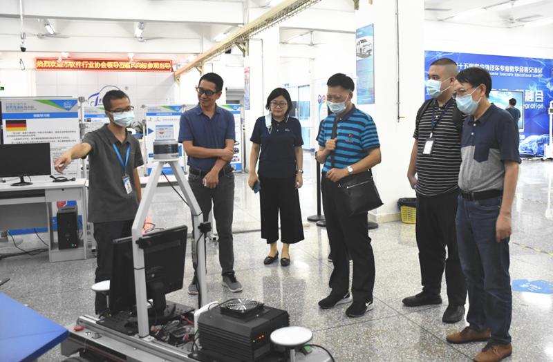 深圳市软件行业协会领导一行莅临说球帝app电脑版参观指导