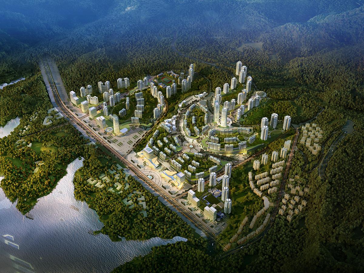 重庆云阳 云阳新城