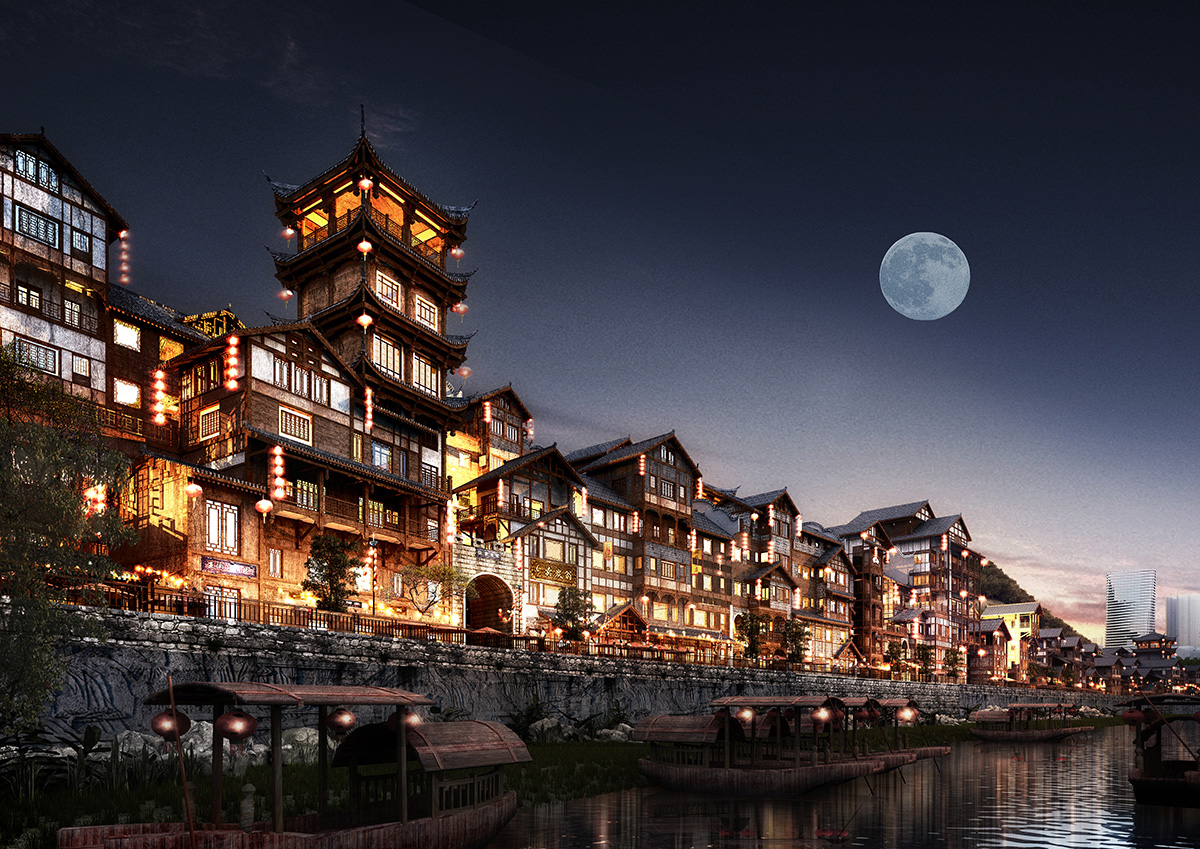 武隆·江南片区城市更新