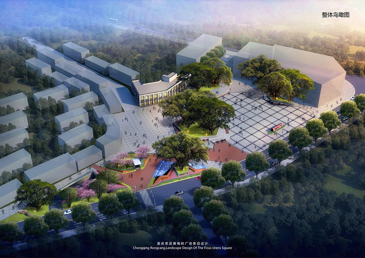 荣昌·黄桷树广场