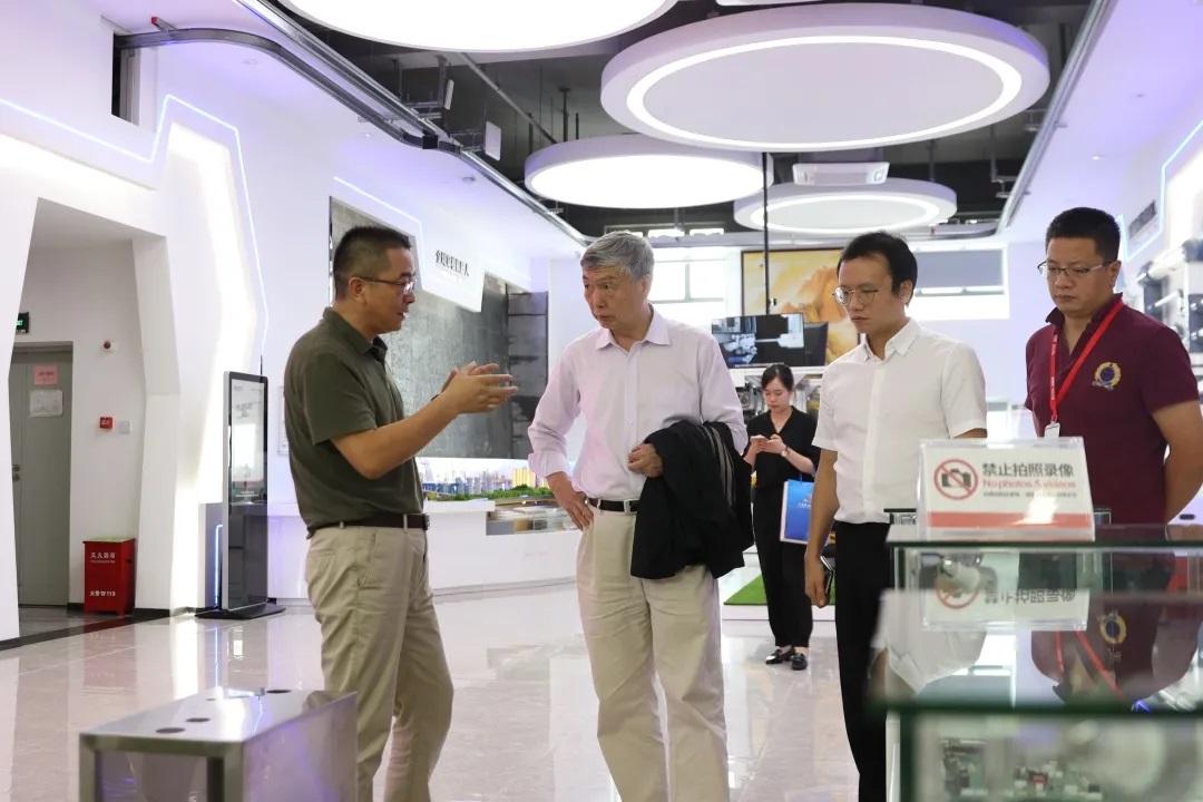 热烈欢迎中国工程院李培根院士一行莅临我司考察交流!