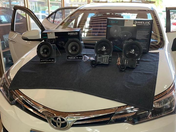 卡罗拉升级德国HELIX音响 | 一套性价比高的音响升级方案,带你品味音乐中的森罗万象