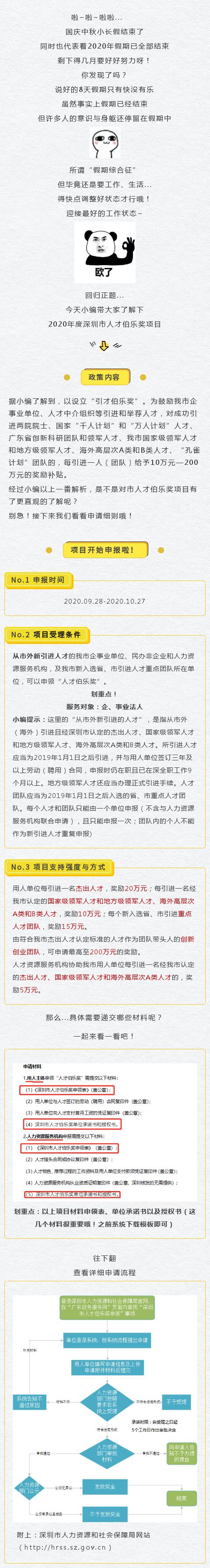 2020年度深圳市人才伯乐奖项目