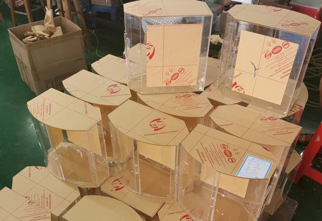 亚克力食品盒制作