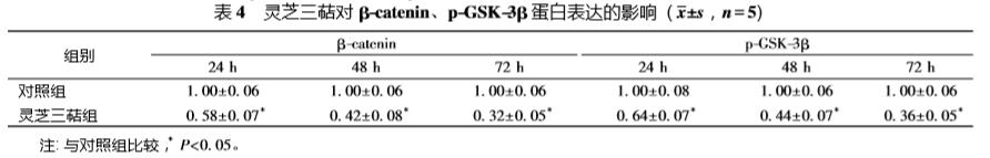 科研观察 | 灵芝三萜通过 Wnt/β-catenin 信号通路抑制肝癌细胞增殖并诱导凋亡
