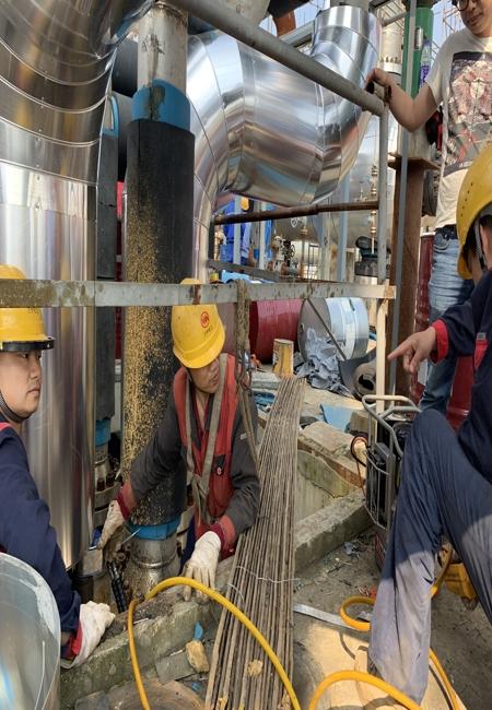 拜尔液压扳手助力某化工厂检修