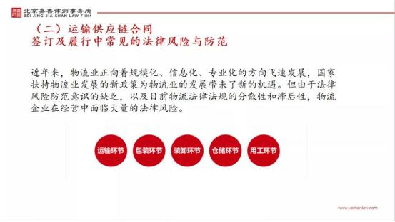 本所合伙人王一萍受北京盛世华人供应链管理有限公司邀请参加法律交流沙龙活动