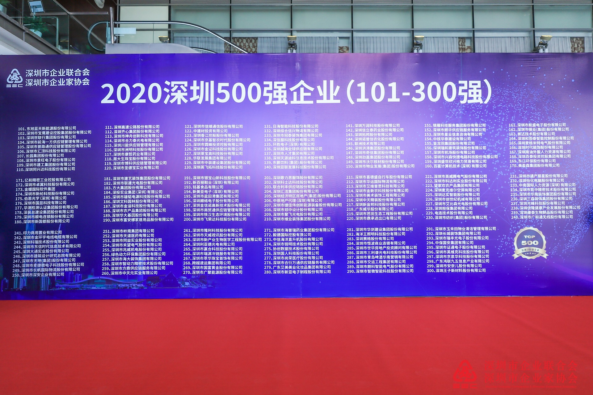 奋进|联合利丰再获评深圳500强企业