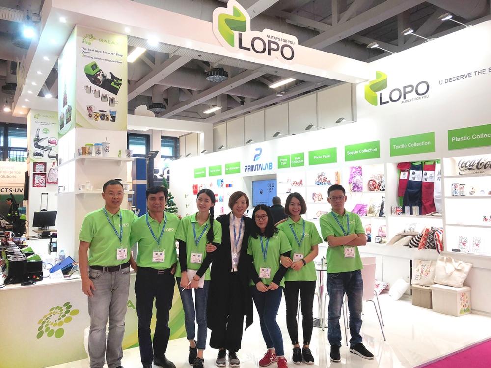 FESPA 2018 - LOPO team