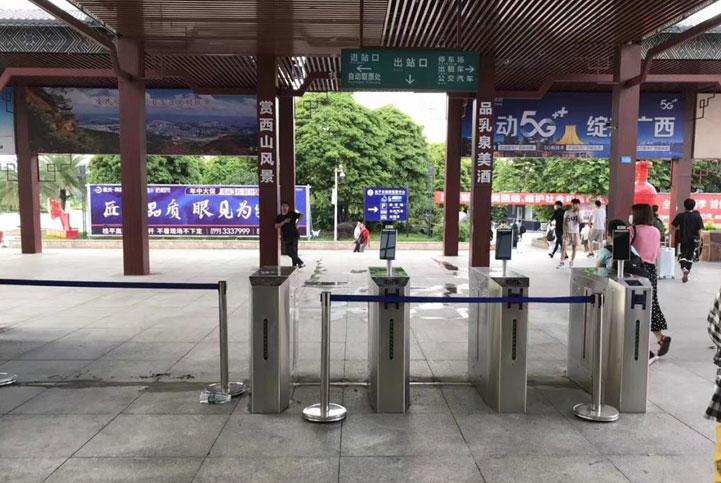 广西某火车通行解决方案