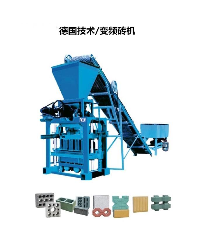 QTJ4-40A型免烧空心砖机设备