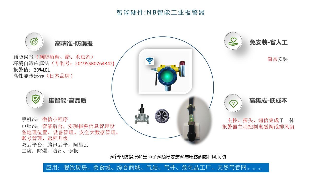 泰燃智能NB-Iot智能工业报警器优势及产品独特性