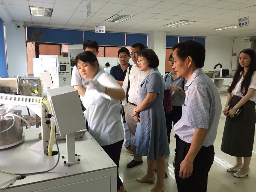 广州市科创委及天河区工信局领导莅临我司调研考察