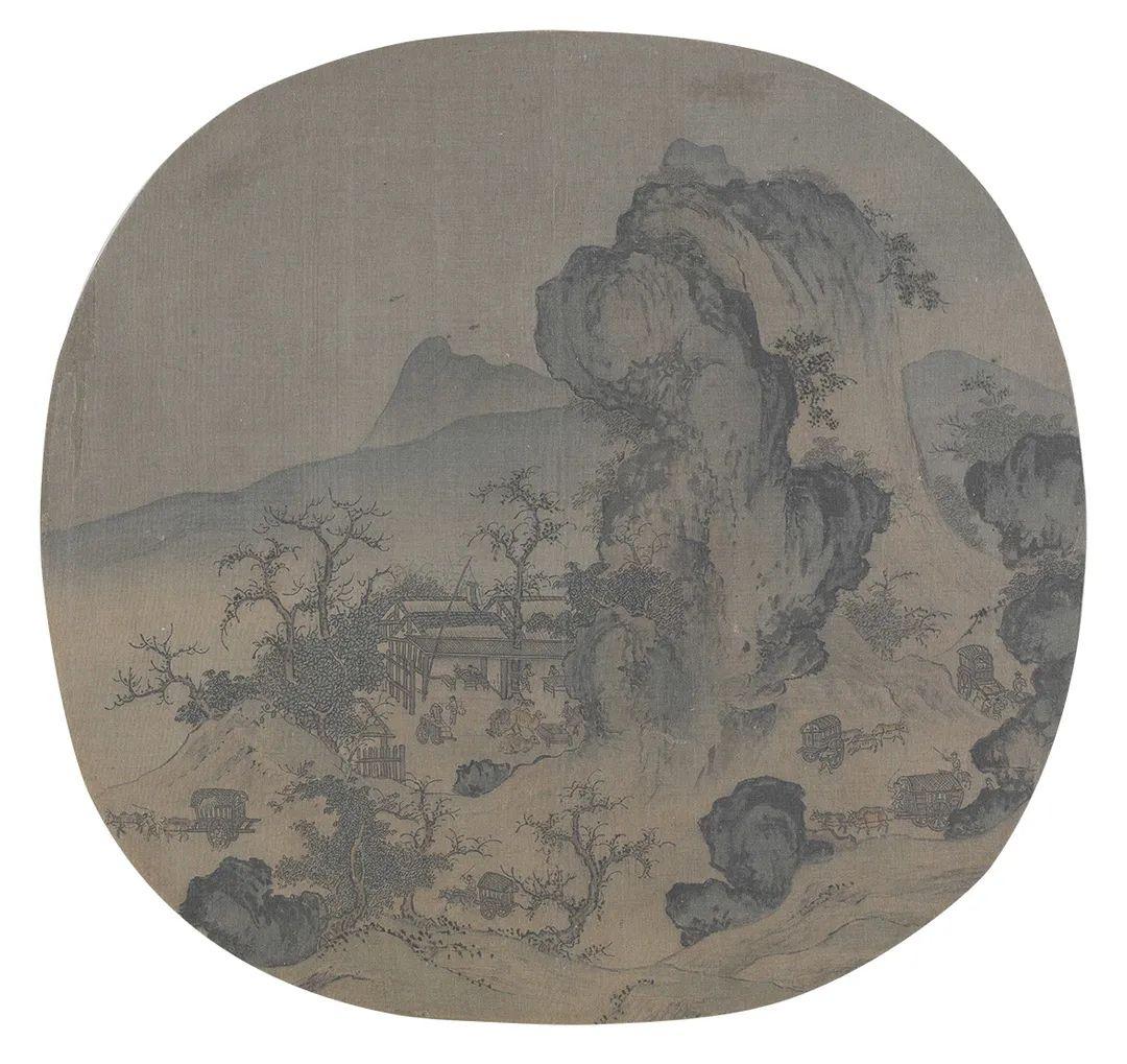 佚名山水一一宋人绘画中的别样风景