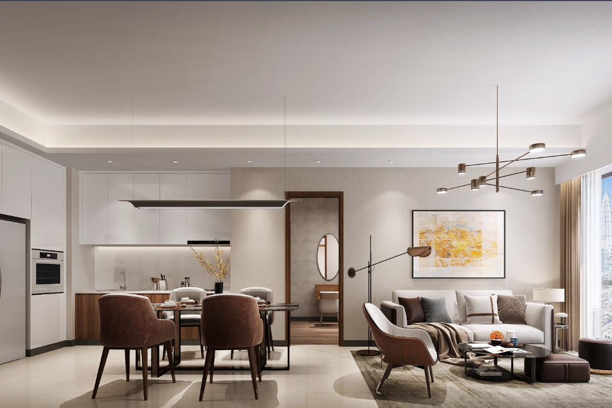吉隆坡房产投资-TRX中央公馆