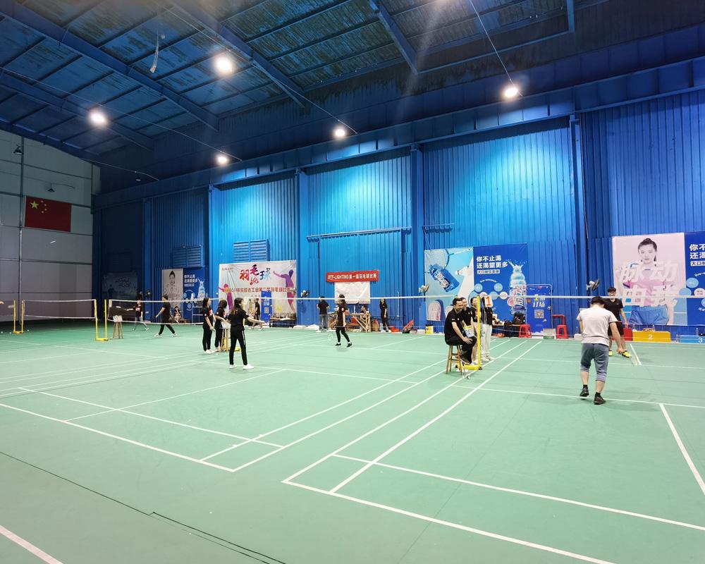 魔灯科技第一届羽毛球比赛圆满举行