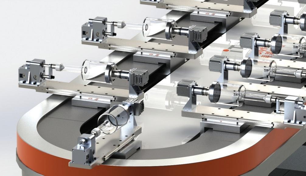 柔性磁悬浮生产线