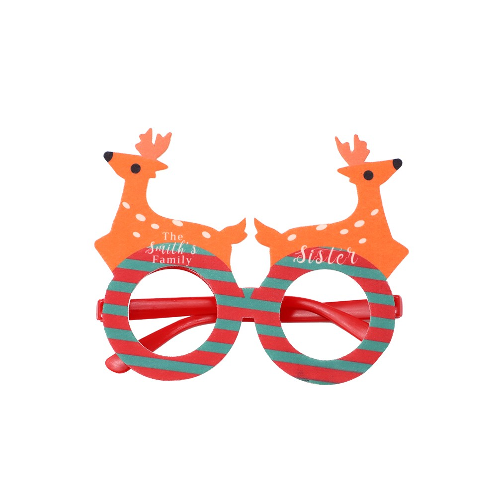 Xmas Party Glasses-Deer