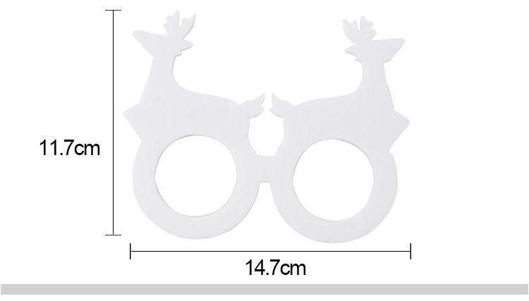 customized deer shape glass