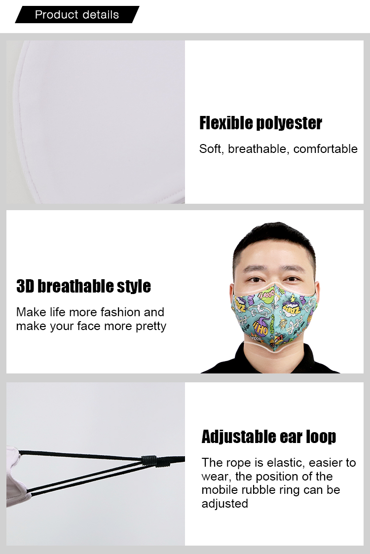 Face Mask for Sublimation