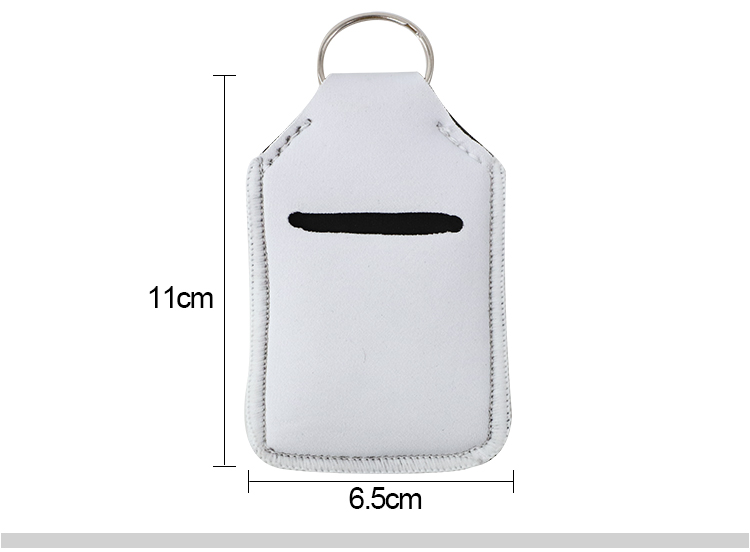 Size for Small Size Neoprene Hand Sanitizer Bottle Sleeves